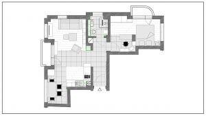 скица на жилищна площ
